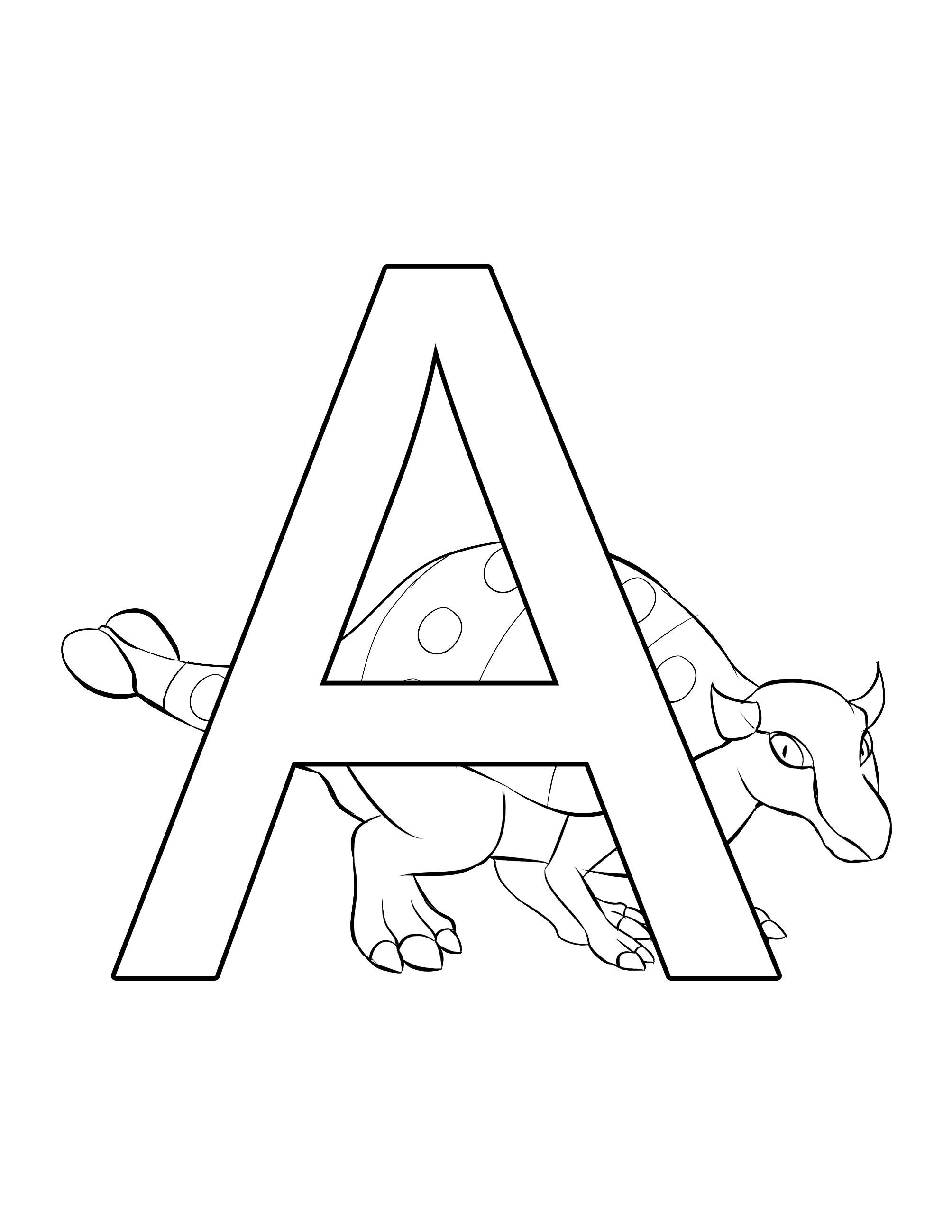 Ankylosaurus - Dinosaur Alphabet