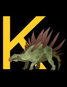 kentrosaurus poster