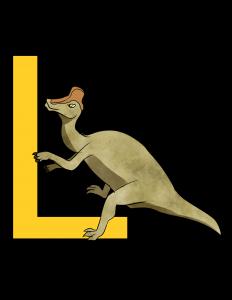 lambeosaurus poster