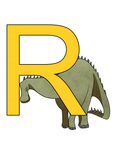 rebbachisaurus poster