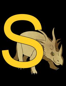 styracosaurus poster