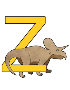 zuniceratops poster